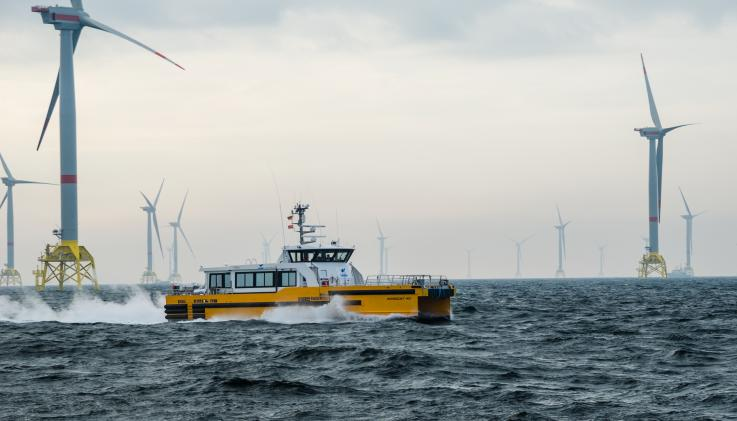 Windcat Offshore Wind Vessels Alewijnse
