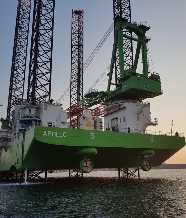 Apollo electrification, offshore wind